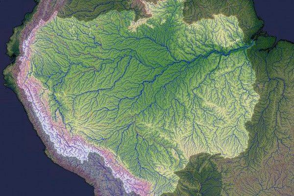 Bacia Amazônica América do Sul