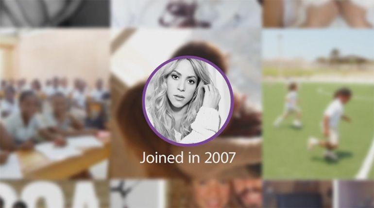 Shakira, a figura pública com o maior número de likes alguma vez conseguido no Facebook