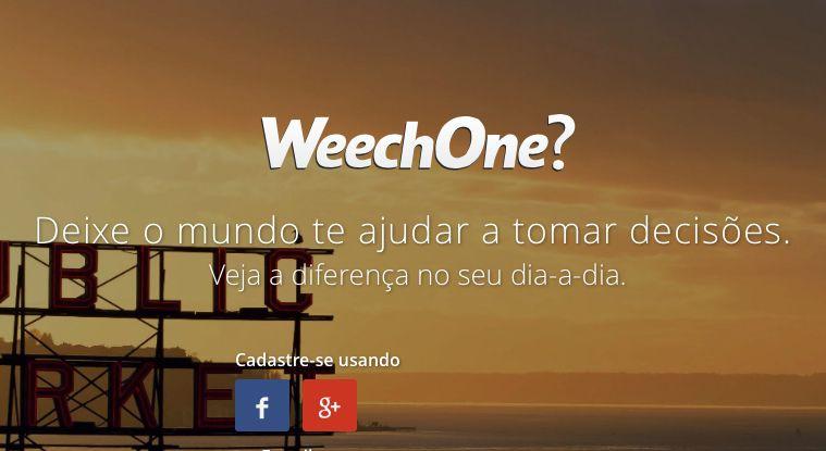 weechone destaque mídias sociais, redes sociais, social media, WeechOne