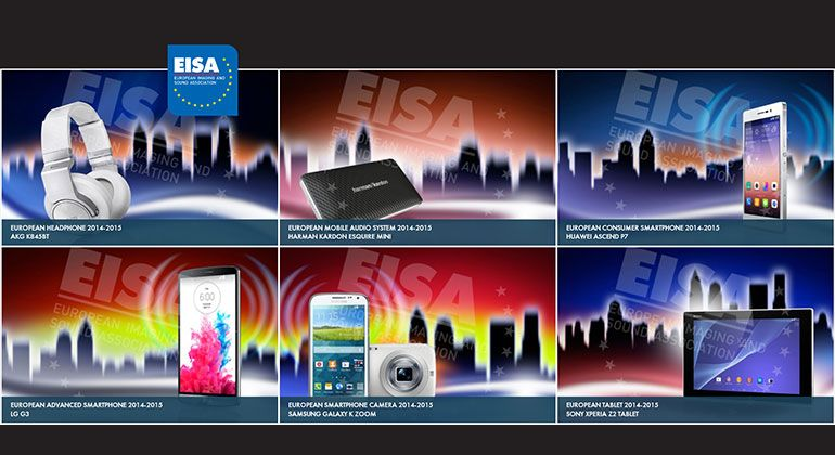 EISA 2014-2015: MOBILE DEVICES AWARDS LIST