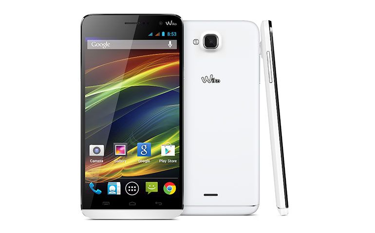 wiko slide um smartphone dual sim de 5 5 polegadas com android kit kat techenet. Black Bedroom Furniture Sets. Home Design Ideas