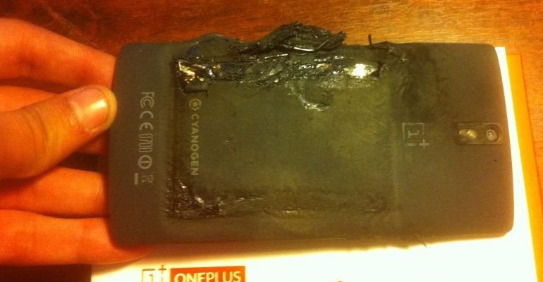 OnePlus One explode