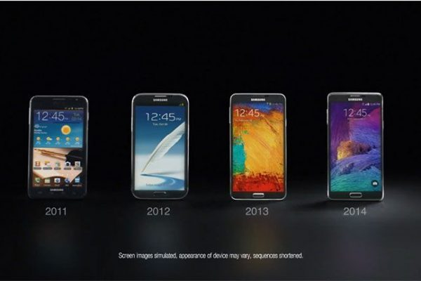 Galaxy Note - Then And Now