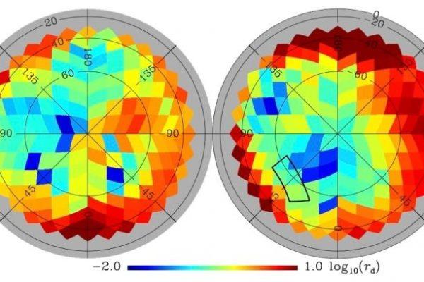 Novo mapa da poeira galáctica Big Bang