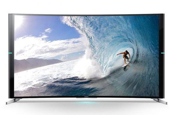 A Sony lançou, finalmente, a sua primeira TV com ecrã curvo