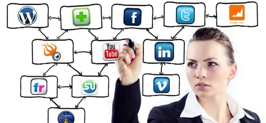 social media + news