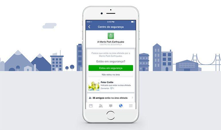 Facebook cria Safety Check