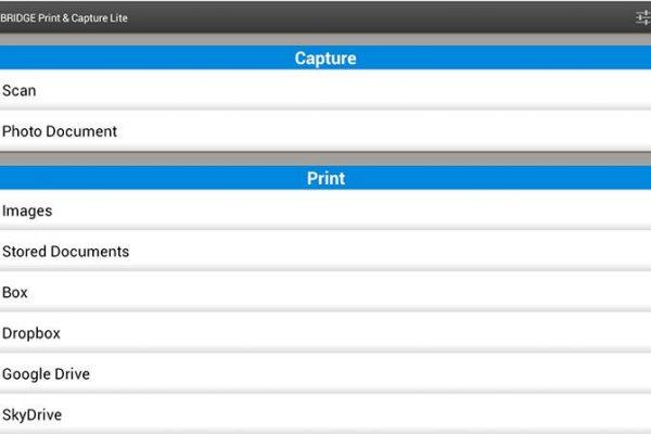 Toshiba lança app gratuita e-BRIDGE Print & Capture Lite