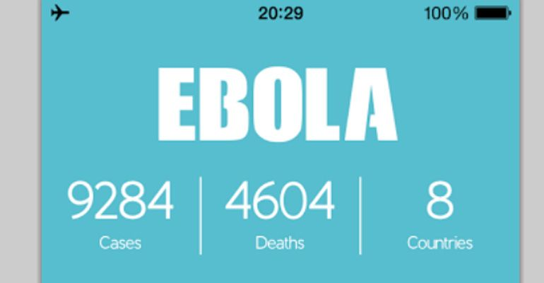 Ebola App Apple Store