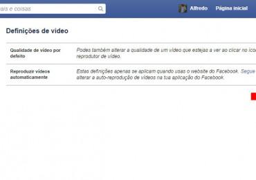 Facebook: Reproduzir vídeos automaticamente