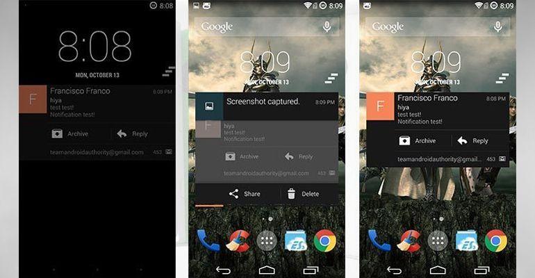 NotifWidget Android