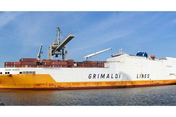 Grimaldi, multinacional de logística especializada no transporte marítimo de carros, contentores e passageiros