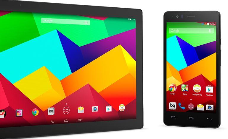 smartphone Aquaris E5 4G e tablet Aquaris E10