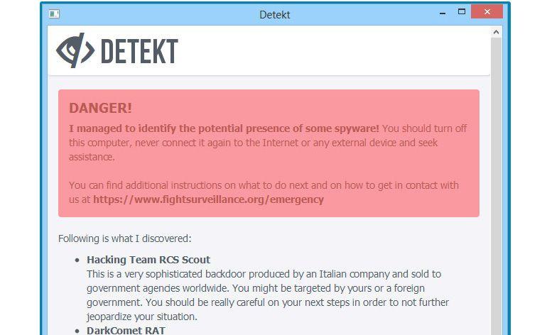 Deteckt é o nome da nova ferramenta, anunciada pela Amnistia Internacional, concebida para combater spywares de vigilância