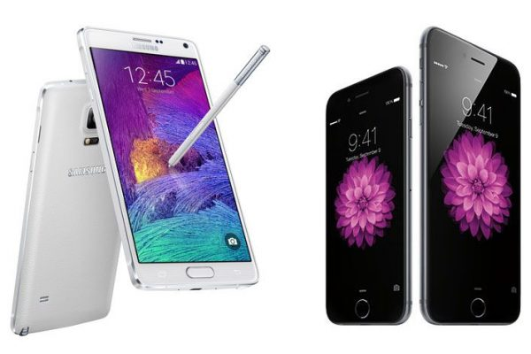 Ecrã do Galaxy Note 4 supera o do iPhone 6 Plus