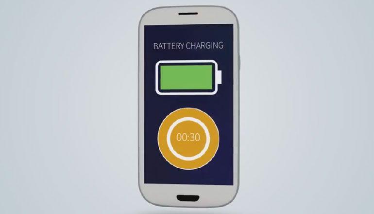 bateria para smartphone StoreDot