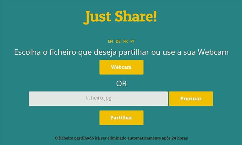 shar3-it.com: partilhar imagens com segurança