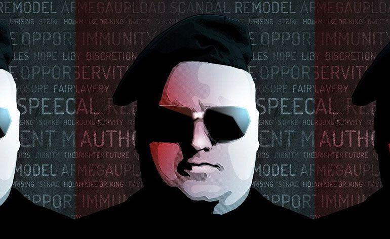 Kim Dotcom irá lançar brevemente um serviço de chat e vídeo chamadas com criptografia avançada.