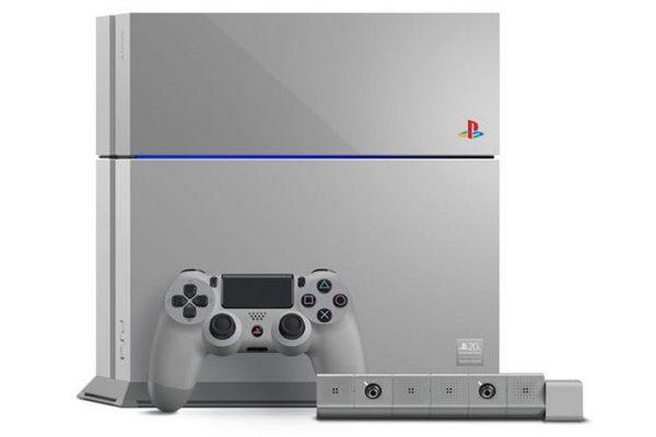 Sony anuncia edição especial da PS4 para celebrar 20 anos da PlayStation