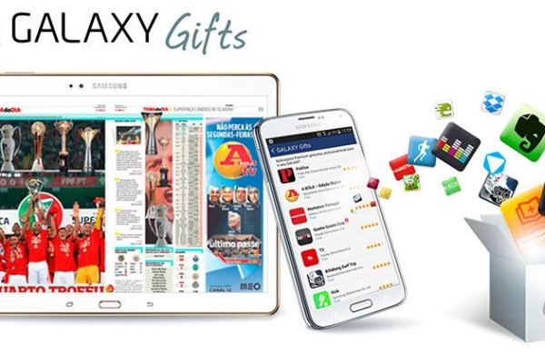 serviço GALAXY Gifts