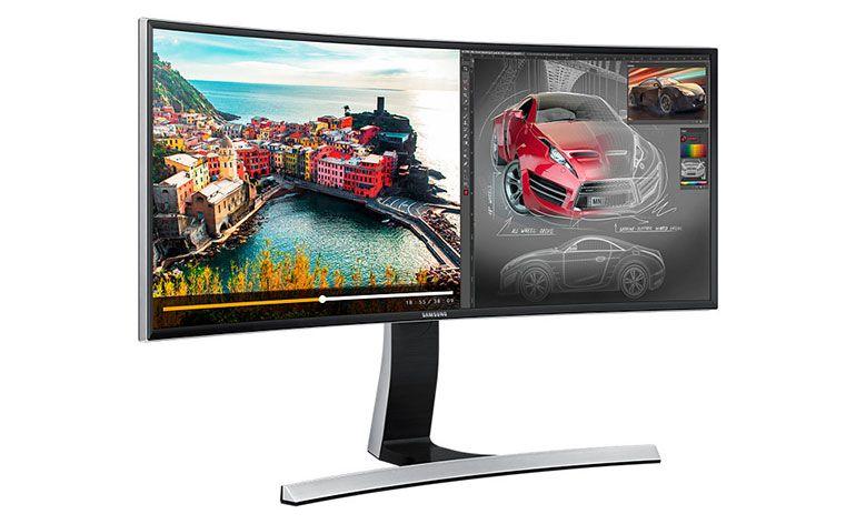 "Samsung E790C: monitor curvo Ultra WQHD de 34"""