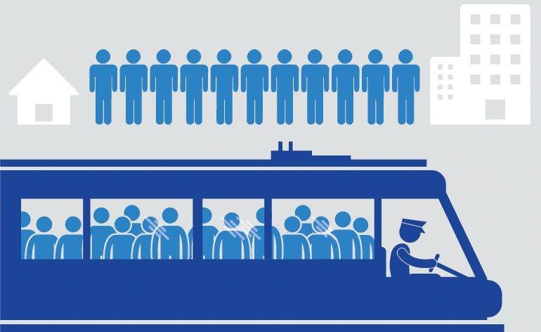 Portuguees demoram cerca de 42 minutos na deslocação de e para o trabalho