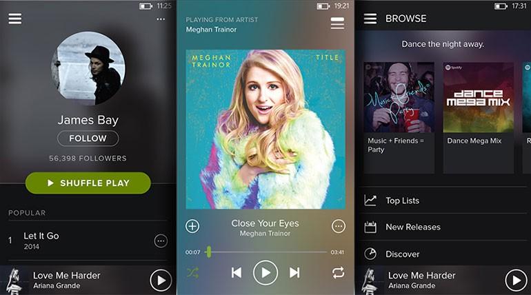 Spotify para Windows Phone recebe atualização