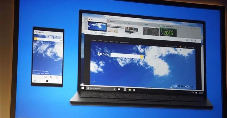 Microsoft Project Spartan Windows 10