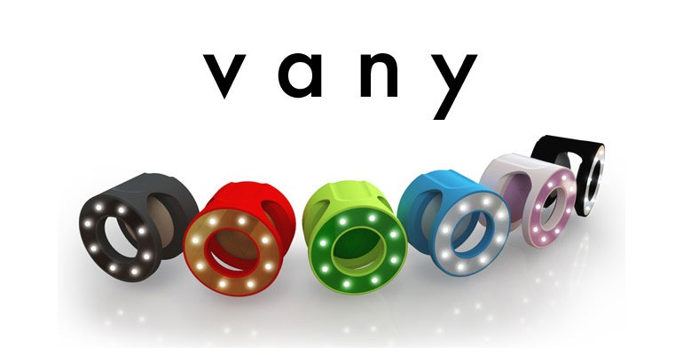 Vany Ring selfies Indiegogo
