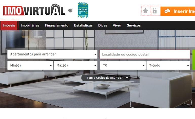 portal imobiliário Imovirtual