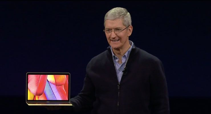 Apple surpreende com super fino MacBook