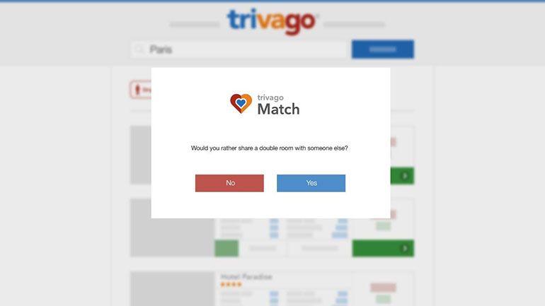 trivago lança nova funcionalidade: trivago Match