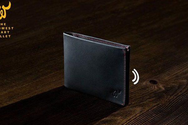 Woolet carteira inteligente Android Kickstarter