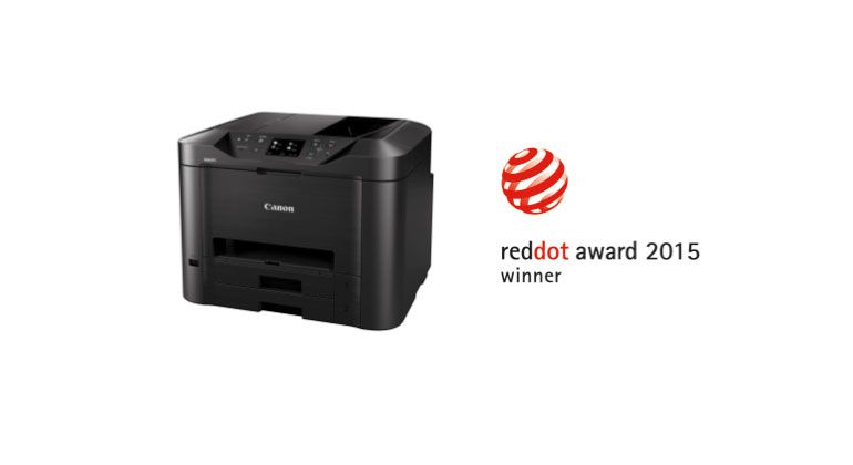 Canon MAXIFY: Red Dot International Design Award