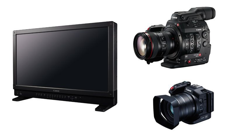 Canon-monitor-video-cameras