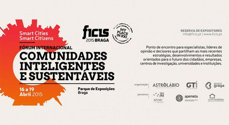 Fórum Internacional de Comunidades Inteligentes e Sustentáveis em Braga