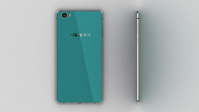 Leaked concept photo of the back and side of the R7 Android, MediaTek, oppo, Oppo R7, R7, smartphone, topo-de-gama