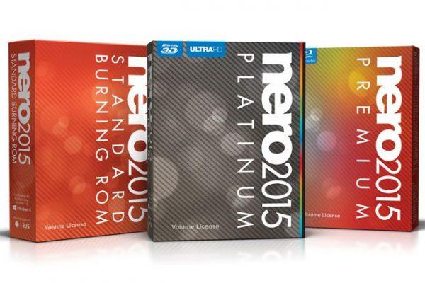 Nero 2015 Standard - Burning ROM, o Nero 2015 Premium e o Nero 2015 Platinum