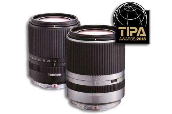 Tamron distinguida com prémio TIPA 2015