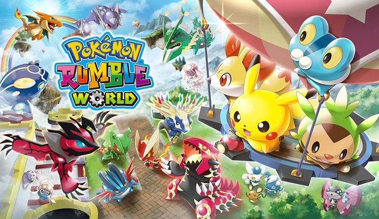 Pokémon Rumble World para Nintendo 3DS