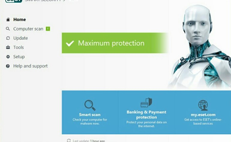 Versão beta do ESET Smart Security 9