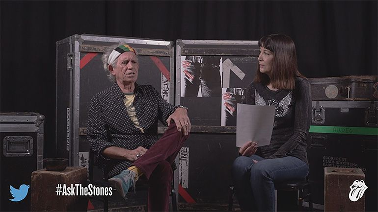 Rolling Stones no Twitter