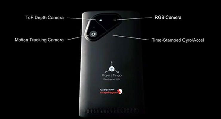 Google Qualcomm Project Tango Smartphone