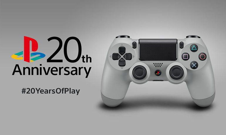 DUALSHOCK®4 Wireless Controller 20th Anniversary Edition