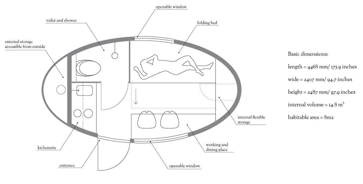 Ecocapsule interior 3