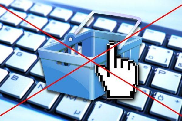 compras online proibidas