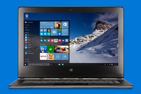 windows 10 notebook mac