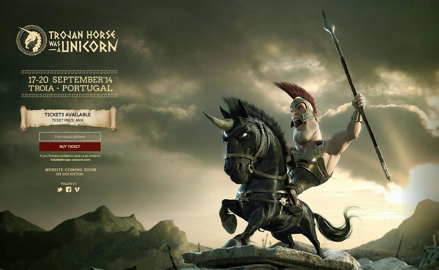 Evento Trojan Horse Was an Unicorn