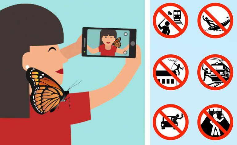 Selfie segura: foto divulgaçãoão