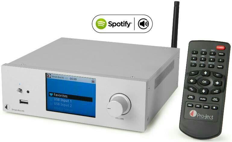 Stream Box, Pro-jet, Spotify